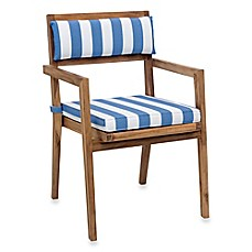 Zuo 174 Outdoor Nautical Chair Back Cushion Set Of 2 Bed