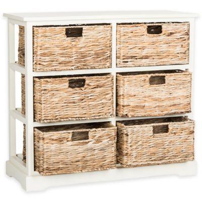 Safavieh Keenan 6 Wicker Basket Storage Chests