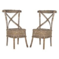 Safavieh Katell Dining Chairs in Grey