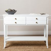 Abbyson Living® Hewitt Console Table in Antiqued White