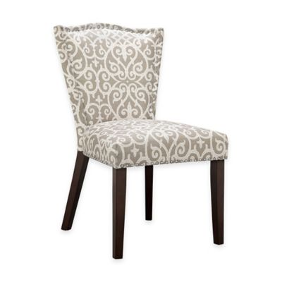 madison park nate dining chairs in greywhite set of 2 buy dining room