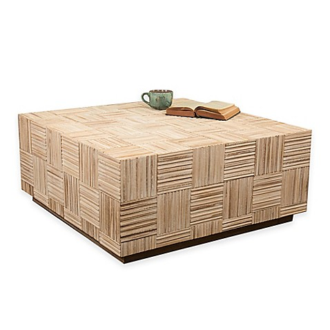 Jeffan Colton Coffee Table In Natural Bed Bath Beyond - Colton coffee table