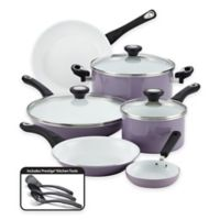 Farberware® PURECOOK™ Ceramic Nonstick 12-Piece Cookware Set in Lavender