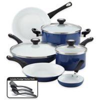 Farberware® PURECOOK™ Ceramic Nonstick 12-Piece Cookware Set in Blue