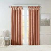 Madison Park Emilia 120-Inch Window Curtain Panel in Spice