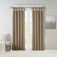 Madison Park Emilia 120-Inch Window Curtain Panel in Pewter