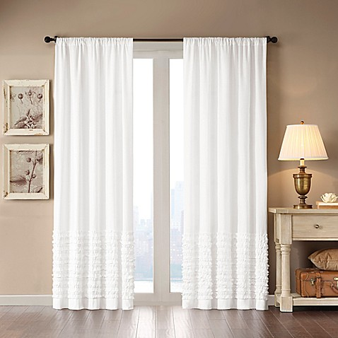 Madison Park Bessie Window Curtain Panel And Valance Bed