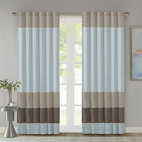 Madison Park Amherst Window Curtain Panel And Valance Bed Bath Beyond