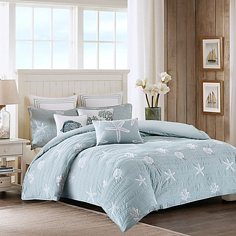 Harbor House Seaside Quilted Duvet Cover Set Bed Bath