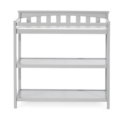 Child Craft™ London Euro Flat Top Changing Table In Cool Grey