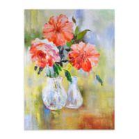 Peachful Morning Canvas Wall Art