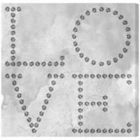 "Oliver Gal ""Love"" Diamonds Canvas Wall Art"