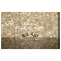 Oliver Gal Artist Co. Run Wild Together Canvas Wall Art