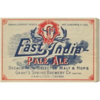 Oliver Gal East India Pale Ale Canvas Wall Art