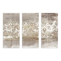 The Oliver Gal Artist Co. Numerica Triptych Canvas Wall Art (Set of 3)