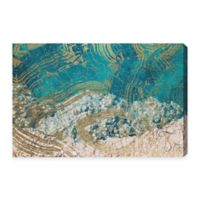 Oliver Gal Salt Water Canvas Wall Art