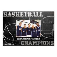 Basketball Champions Canvas Wall Art
