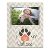 """I Love My Pet"" Canvas Wall Art"