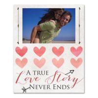 True Love Story Canvas Wall Art