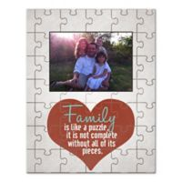 """Family Puzzle"" Canvas Wall Art"