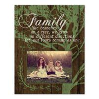Family Tree Digitally Printed Canvas Wall Art