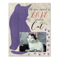 """All You Need Is Love and a Cat"" Wall Art"
