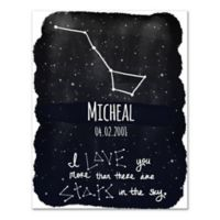 """More Than The Stars"" Canvas Wall Art"