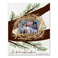 Family Nest Canvas Wall Art