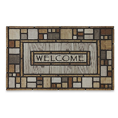 Tiles Galore 18 Inch X 30 Inch Recycled Rubber Door Mat