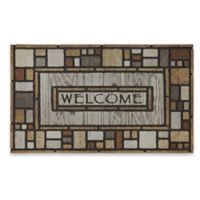 Tiles Galore 18-Inch x 30-Inch Recycled Rubber Door Mat