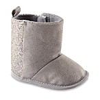 BabyVision® Luvable Friends® Size 6-12M Sparkle Boots in Grey
