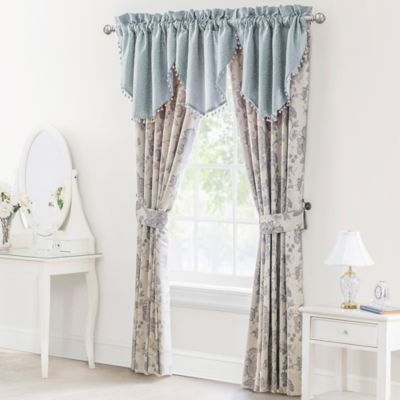 buy waterford window valance from bed bath & beyond