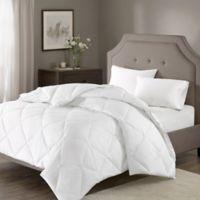 Madison Park Signature 1000-Thread-Count Down Alternative Full/Queen Comforter in White