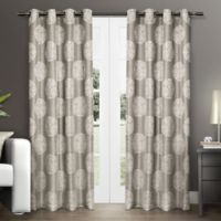 Akola 96-Inch Grommet Top Window Curtain Panel Pair in Natural