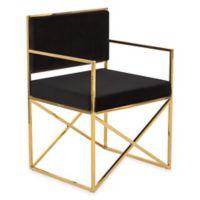 Kian Chair in Black Velvet