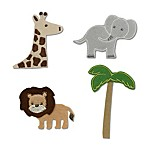Little Haven 4-Piece Jungle Letter Embellishment Set