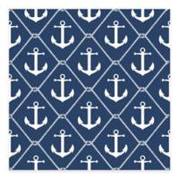WallPops!® NuWallpaper™ Sail Peel & Stick Wallpaper in Navy Blue