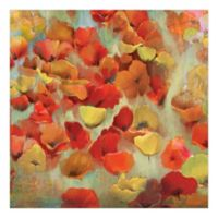 Pied Piper Creative Delightful Flowers 30-Inch x 30-Inch Canvas Wall Art