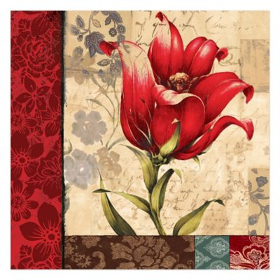 Buy Tulips Canvas Art from Bed Bath & Beyond