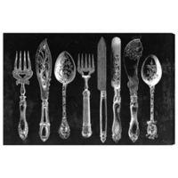 Oliver Gal Royal Cutlery Canvas Wall Art