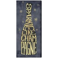 "Oliver Gal ""Sparkle Like Champagne"" Canvas Wall Art"
