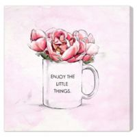 "Oliver Gal Artist Co. ""Enjoy The Little Things"" Canvas Wall Art"