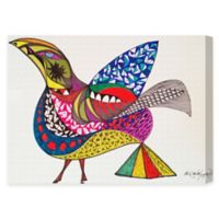 Oliver Gal Artist Co. Yellow Bird Canvas Wall Art