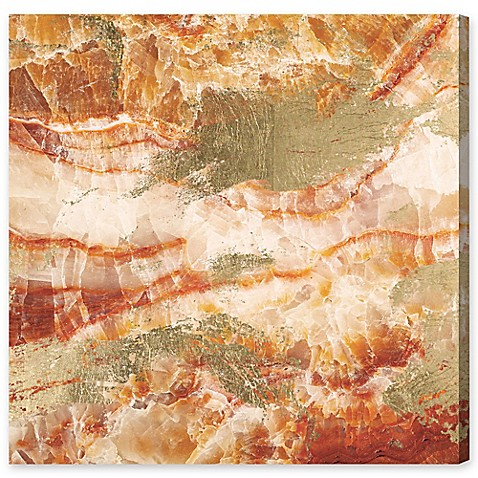 Oliver Gal Artist Co Vacation Geode Canvas Wall Art Bed