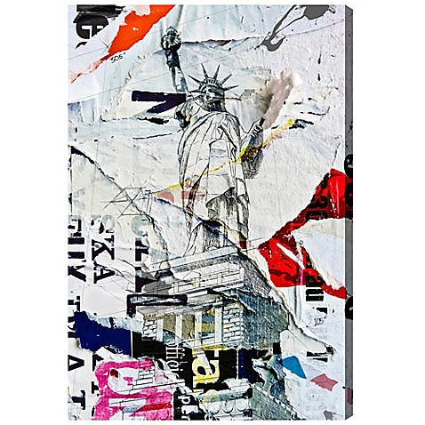 image of Oliver Gal Artist Co. Liberty Canvas Wall Art