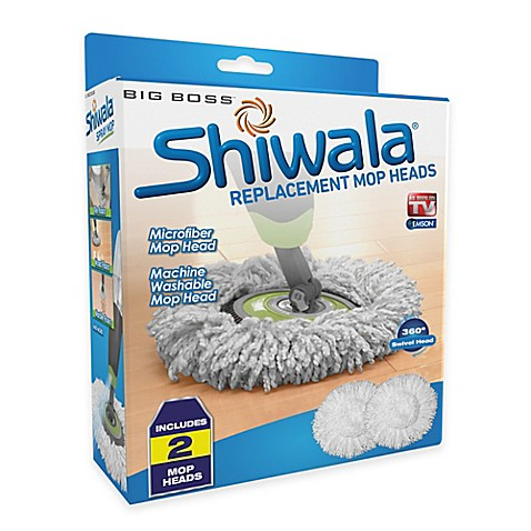 Big Boss Shiwala 174 Replacement Mop Heads Set Of 2 Bed