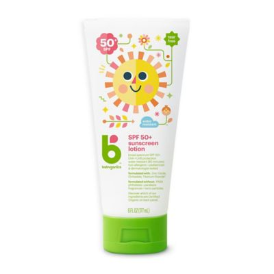 babyganics 6 oz 50 spf mineral based sunscreen buybuybaby. Black Bedroom Furniture Sets. Home Design Ideas