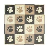 Tadpoles™ by Sleeping Partners Paw Print Play Mat in Taupe/Brown