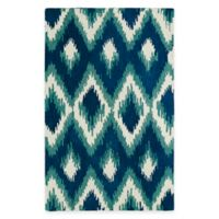 Kaleen Global Inspirations Ikat 5-Foot x 7-Foot 9-Inch Area Rug in Blue
