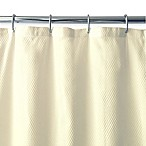 Ella Microfiber Shower Curtain Liner in Ivory